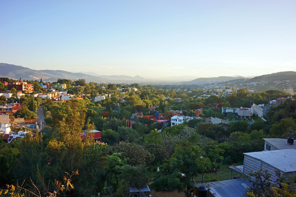 A view of Oaxaca