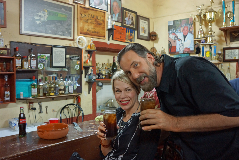 Kristen and Michael at La Capilla